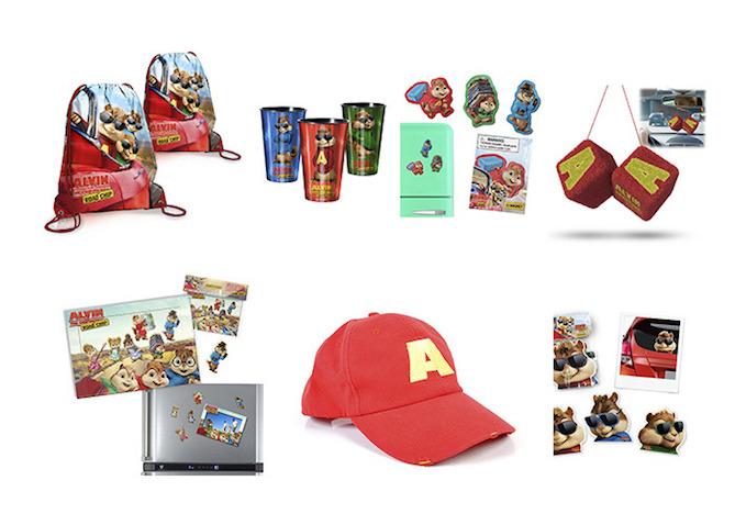 regalos Alvin y las Ardillas