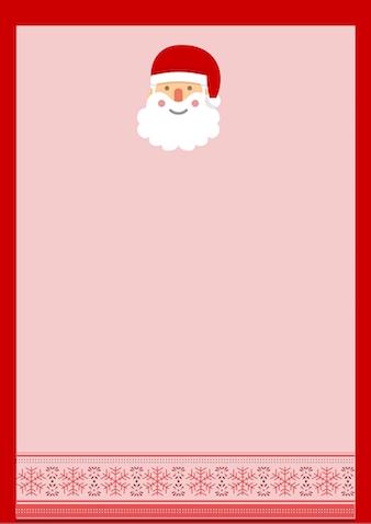 Carta Papá Noel para descargar gratis