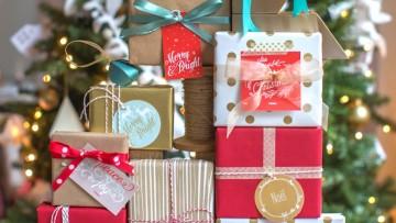 Descarga e imprime etiquetas para tus regalos