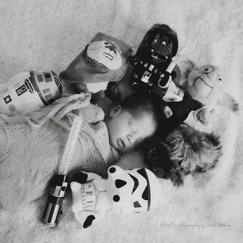foto bebe star wars