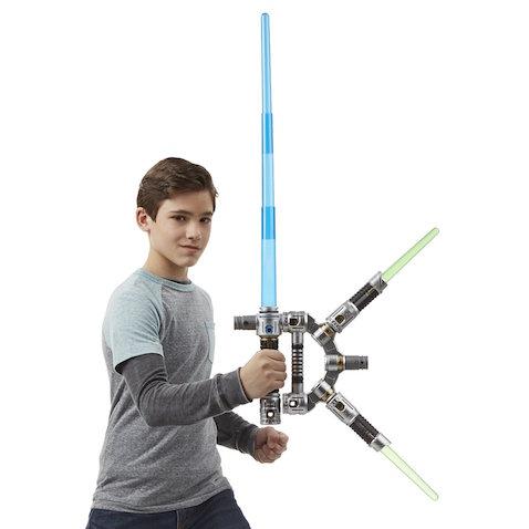Star Wars sables láser de los Jedi