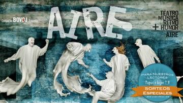 ¡Sorteo de entradas para el Teatro en familia, disfruta de AIRE!