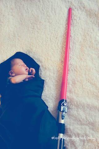 star wars espada bebe
