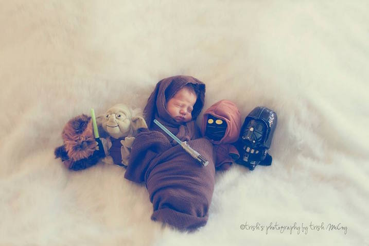 star wars fotos bebe