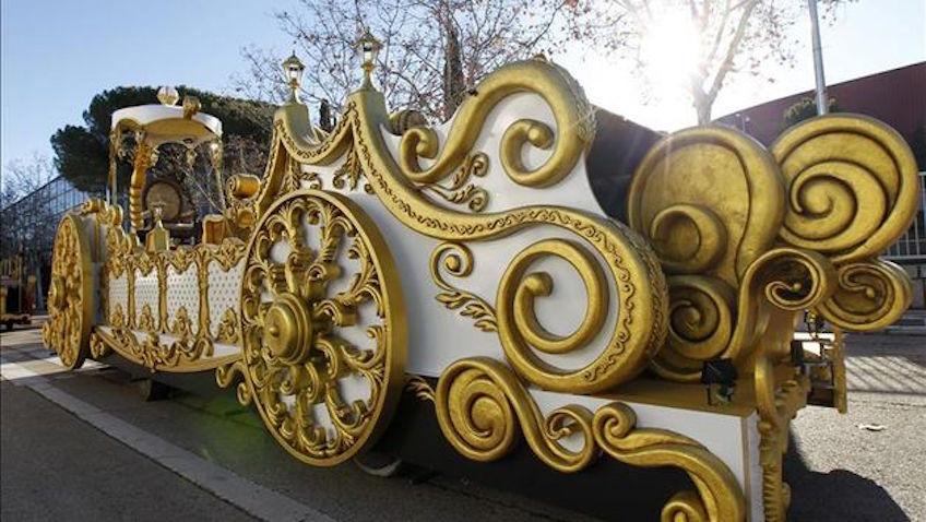 Cabalgata de Reyes de seguridad para ir con niños