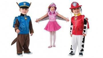 Los disfraces de la Patrulla Canina serán los preferidos de muchos niños en Carnaval