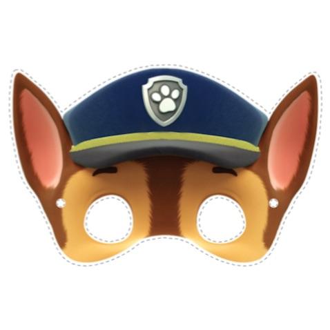 disfraz casero patrulla canina chase