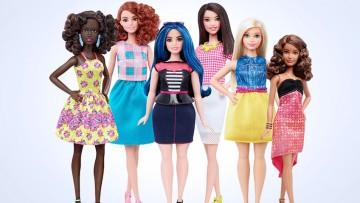 Mattel lanzará tres nuevas Barbies con medidas más reales