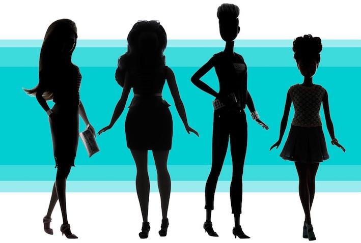 Nuevas Barbies de Mattel con medidas reales