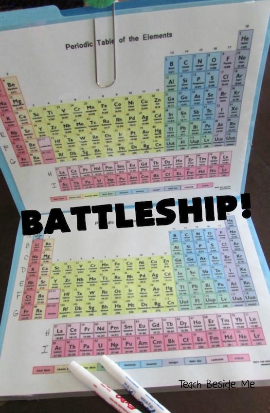 tabla periodica elementos juego