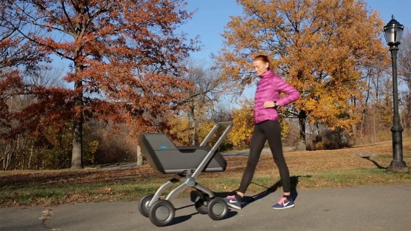 Smartbe carrito de bebé conduce solo