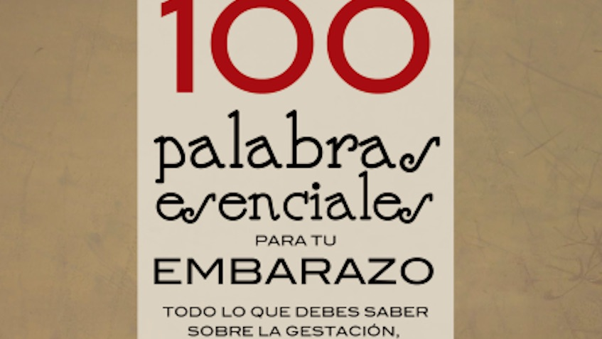 libro 100 palabras esenciales para tu embarazo
