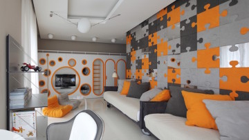 Ideas de decoración para una habitación juvenil moderna