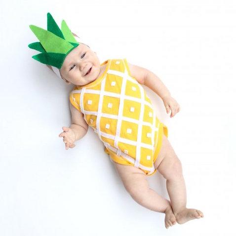disfraz para bebe de pina
