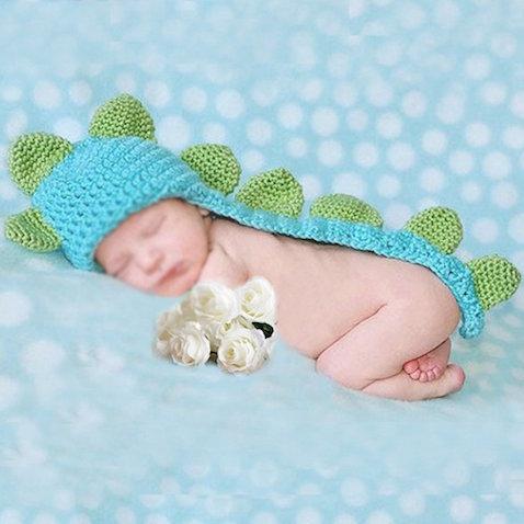 disfraz bebe recien nacido dinosaurio