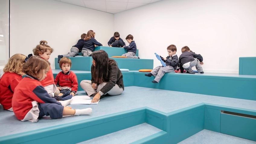 escuela infantil area de trabajo