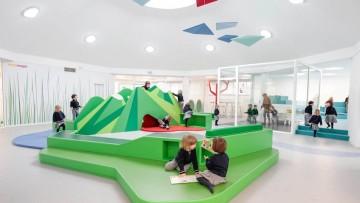 Una escuela infantil española con diseño nórdico