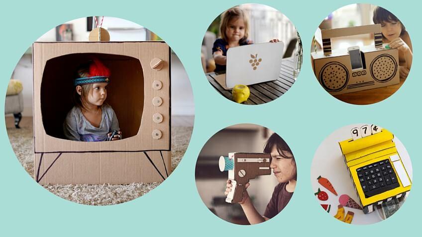 juguetes electronicos caseros hechos con material reciclable