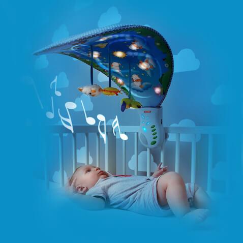 móvil para cuna del bebé