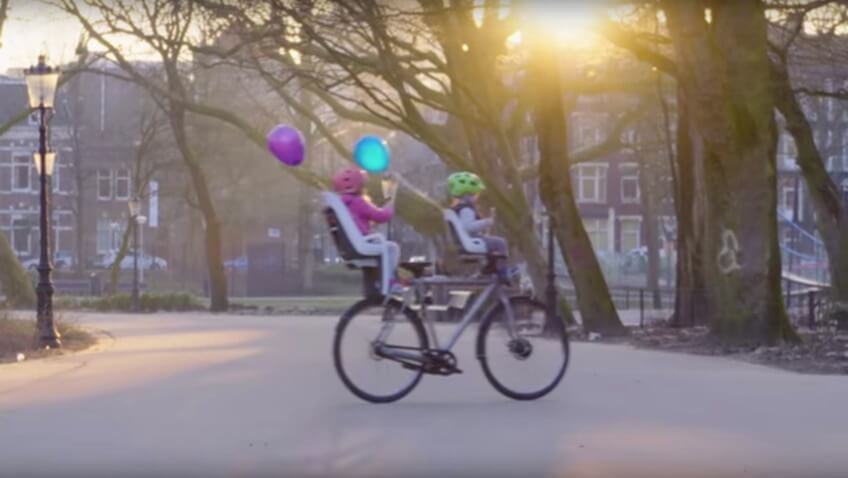 Bicicleta autonoma que se conduce sola google