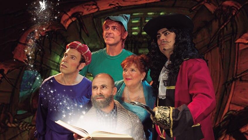 Peter pan en el Pais de la Opera teatro arlequin madrid