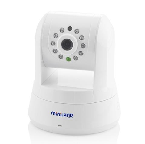 Cámara vigilabebés spin IPcam de Miniland