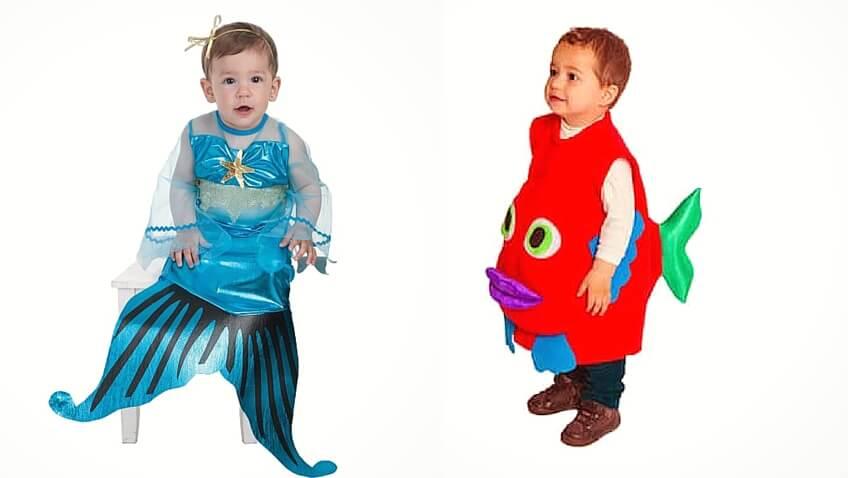6 disfraces para bebés para primavera y verano