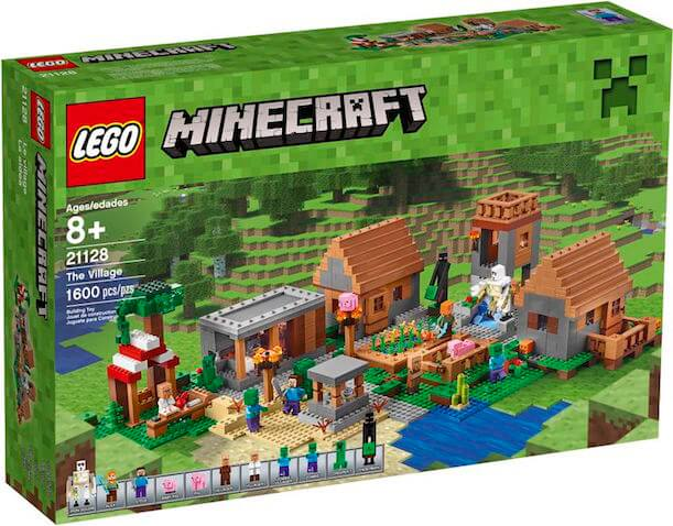 La Aldea Lego Minecraft Set
