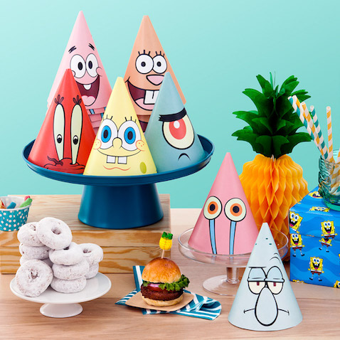 Sombreros de fiesta Bob Esponja