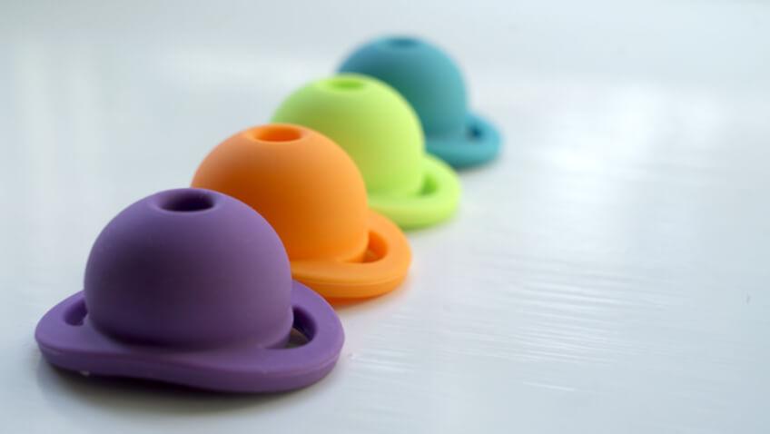 chupete doddle pop colores