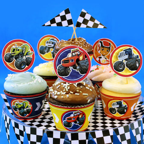 cupcakes de Blaze y los Monster Machines