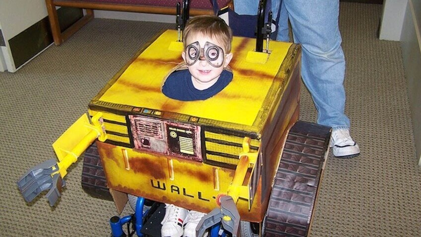 Disfraz infantil de Wall-E