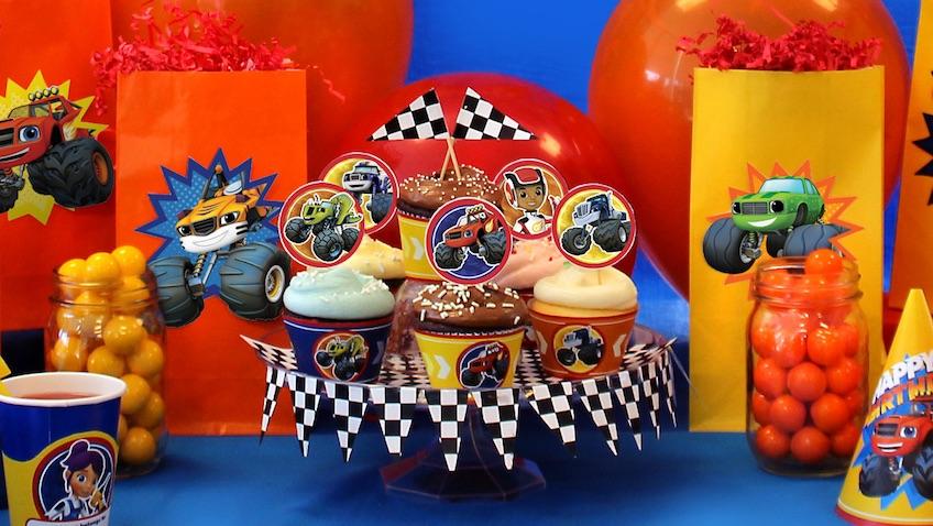 Cumpleaños de Blaze y los Monster Machines