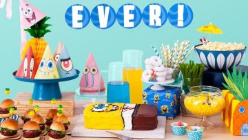 Celebra un cumpleaños de Bob Esponja