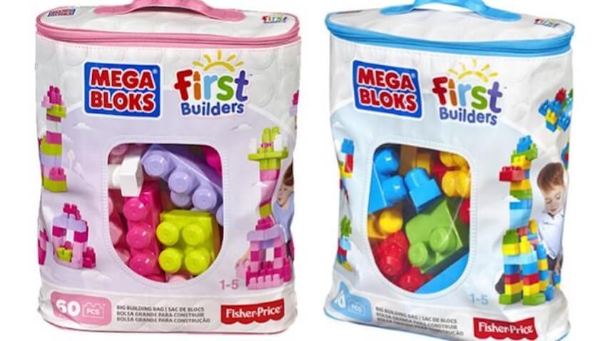 Bolsas de bloques grandes Megabloks