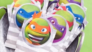 Bolsas de chuches para imprimir con seis personajes infantiles