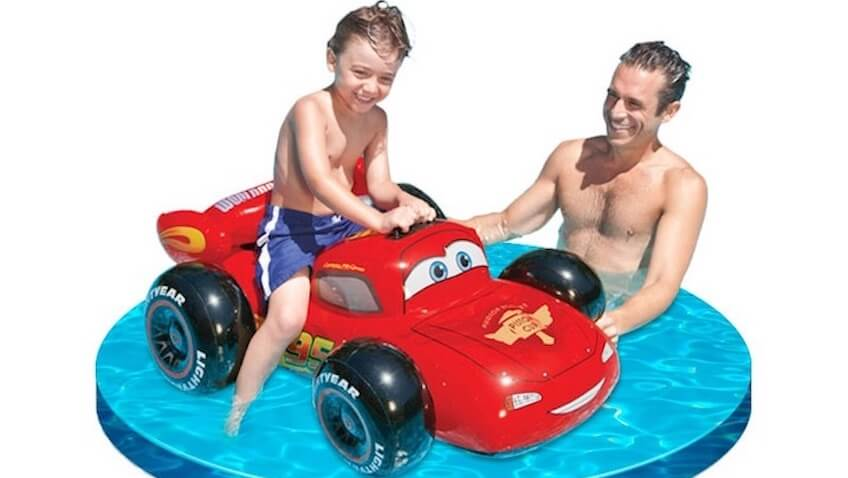 juguetes piscina rayo mc queen cars disney