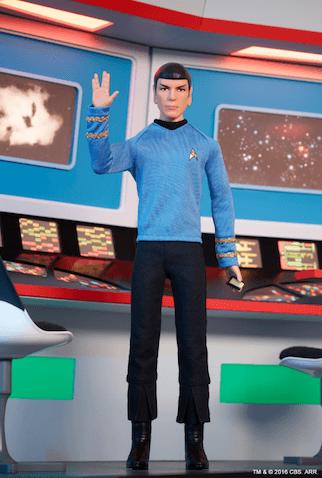 doctor spock muñeco mattel