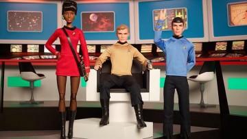 Línea de Star Trek de Mattel