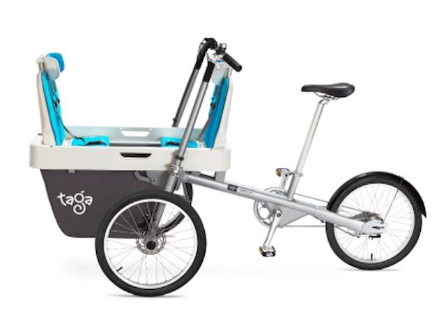 Taga 2.0 un modelo de bicicleta para ir con niños