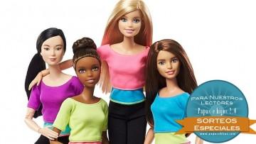 ¡Sorteo de 4 muñecas Barbie Movimiento sin Límites!