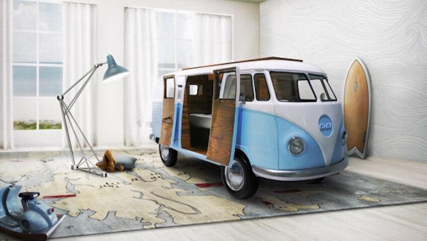 Cama Caravana de Volkswagen