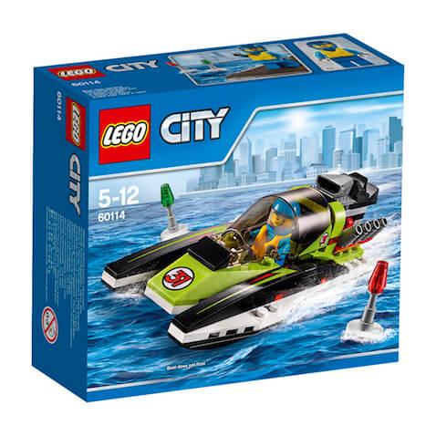 Lancha rápida de LEGO City