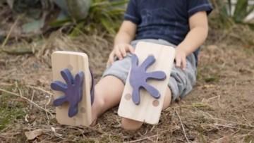 Chanclas para niñ@s con huellas de animales