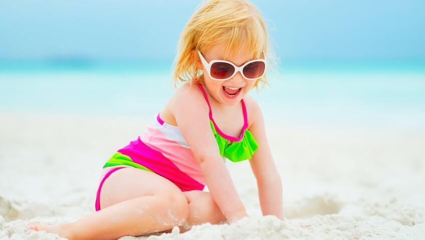 gafas de sol niños niña playa