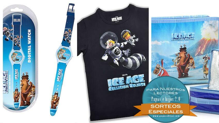 ice age sorteo papás e hijos premios