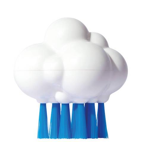 Cepillo con forma de nube