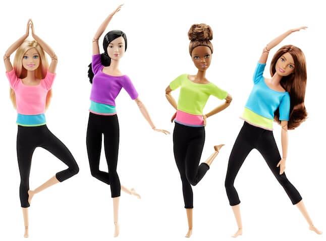 Nuevas muñecas Barbies Movimiento sin Límites