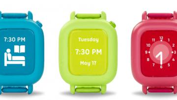 Reloj inteligente para niñ@s, que enseña a seguir rutinas diarias