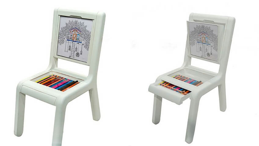 silla infantil blanca original